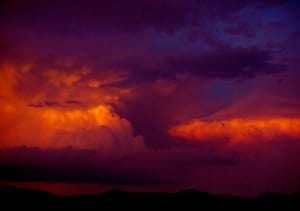 Santa Fe Clouds. New Mexico