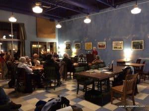 #2 Jan talks at Blue Heron. Paintings. IMG_3493