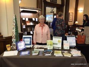 Jan at Winona Public Library Author Day 2019