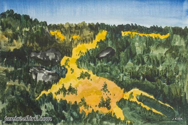 River of Golden Aspen, Colorado
