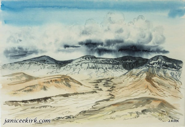 Colorado Plateau west of Grand Junction, Colorado